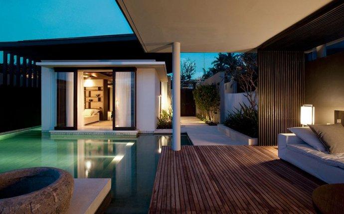A Paradise setting at Alila Villas Soori Resort in Bali, Indonesia