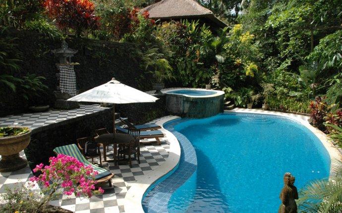 Bali Ubud Bedulu Gubah Bali Exclusive Villas pool area panorama