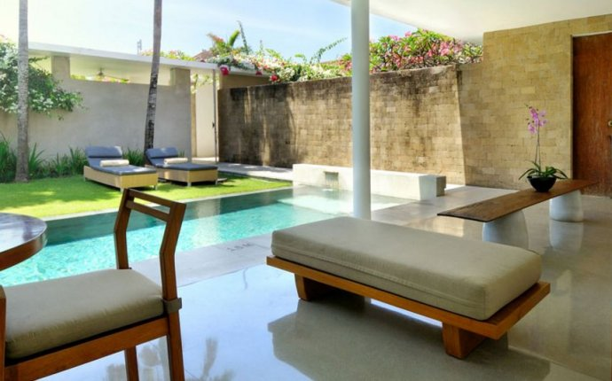 Bali Villas with Pool Fence