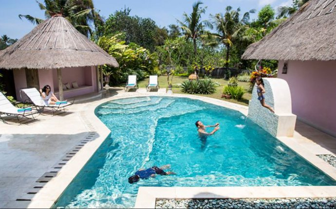 Villas with private Pool in Bali